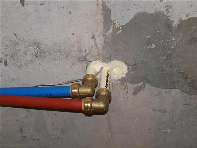 Solar hot water system for Pex water line problems
